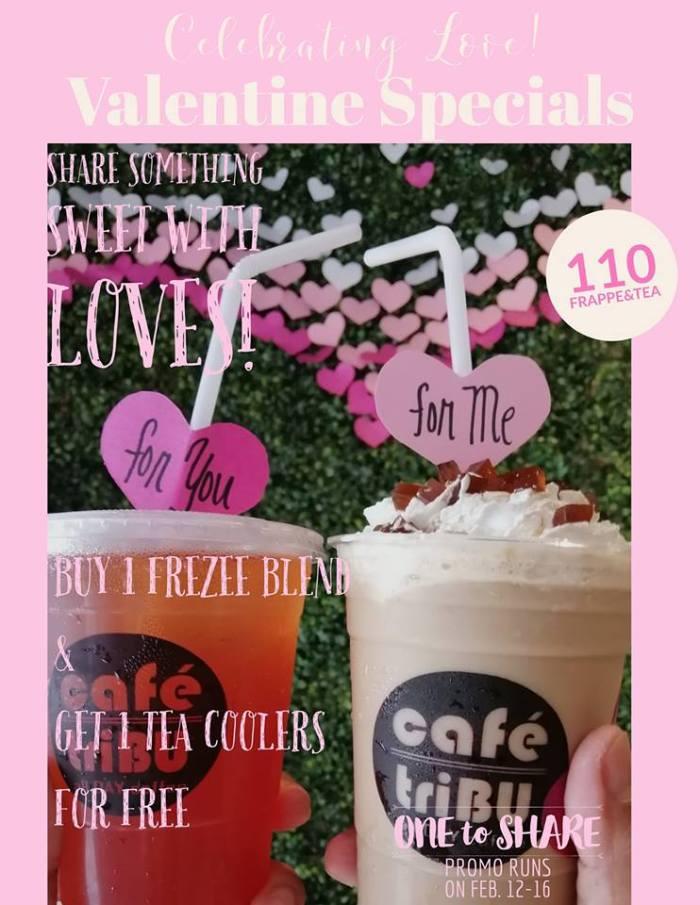 CaféTribu Cagayan de Oro Valentine Special