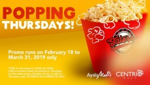 Centrio Cinema Popping Thursdays FI