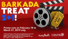 Centrio Cinemas Barkada Treat 5 plus 1 FI