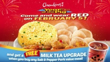 Chowking Free Milk Tea Upgrade FI