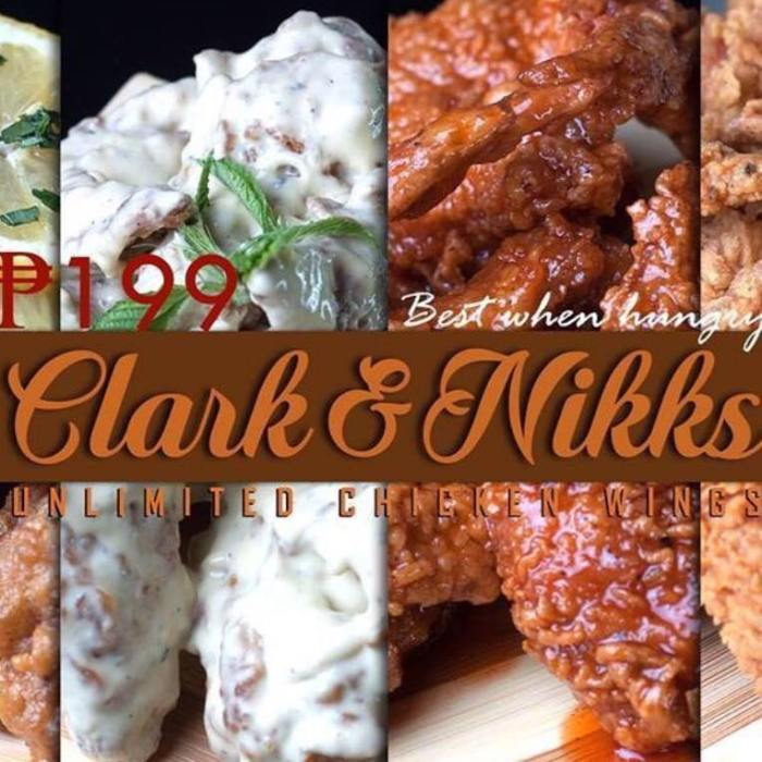 CLARK and NIKKS unlimited chicken wings