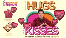 dunkin donuts hugs and kisses FI