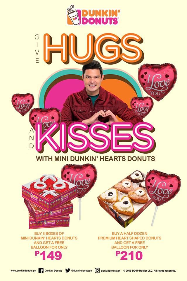Dunkin' Donuts Valentine's Day Promo
