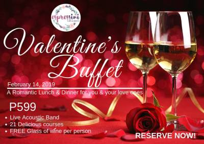 Espressini Cafe and Resto valentines