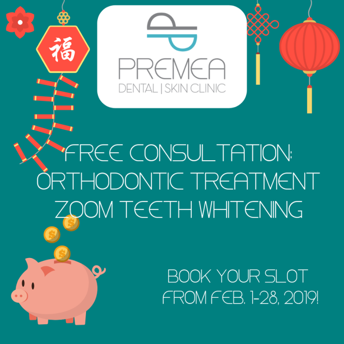 FREE CONSULTATIONS on our Orthodontic treatments and Zoom Teeth Whitening