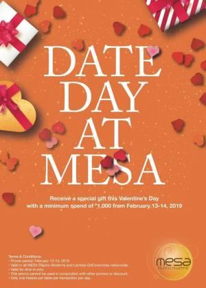 FREE Special Gift at Mesa