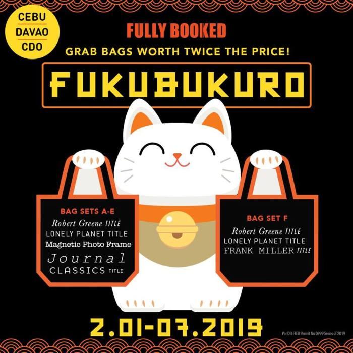 Fukubukuro at Fully Booked CDO