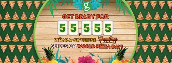 Greenwich FREE 55555 Hawaiian Overload Slices