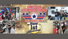 Hair Force One Barber Shop 1st Anniversary Promo bordered FI2