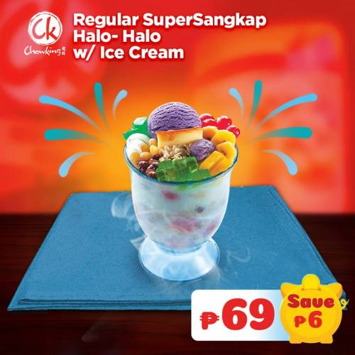 Chowking Halo-Halo Regular