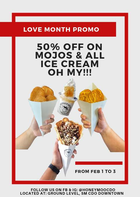 Honeymoo love month promo