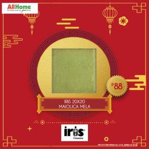 iris 20x20 maiolica mela