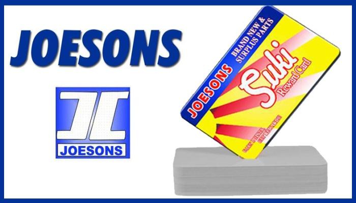 joesons suki rewards card FI