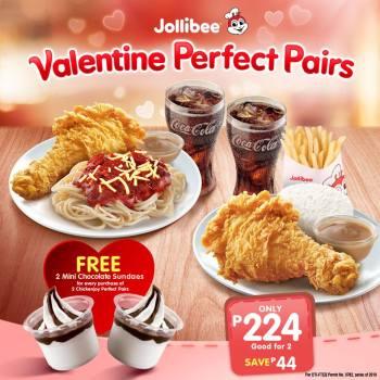 Jollibee Valentine Perfect Pairs
