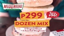 Krispy Kreme P299 Dozen Mix FI
