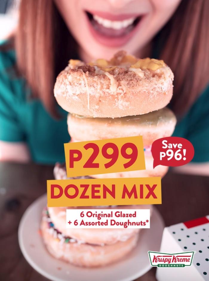 Krispy Kreme P299 Dozen Mix