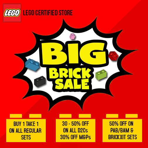 LEGO Certified Store BIG Brick Sale