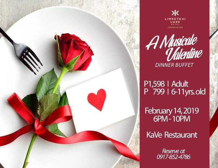 Limketkai Luxe Hotel valentines