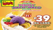 Mang Inasal Pinoy Halo-Halo Add-on Promo FI
