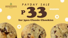 Mercedes Bakery P33 for 3 Classic Chookies Payday Sale FI