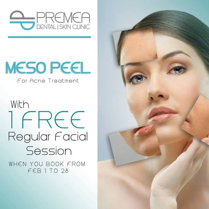 Premea Dental and Skin Clinic meso peel