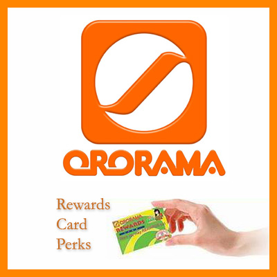 ororama rewards card sq