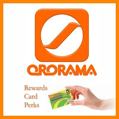 ororama rewards card sq