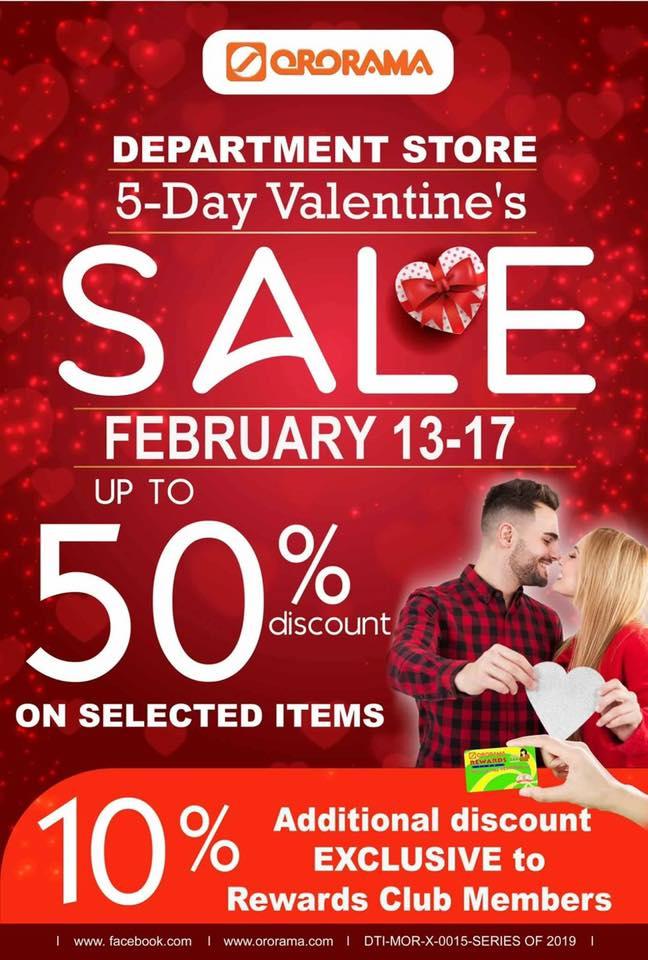 Ororama Valentine's Sale