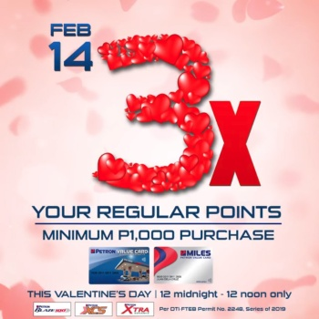Petron Corporation 1-4-3x your Points Promo