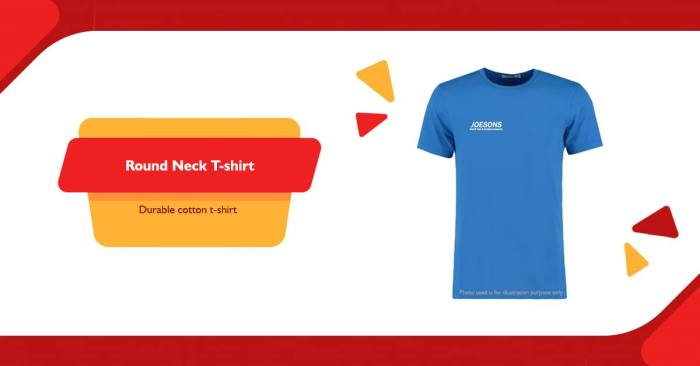 joesons round neck t-shirt