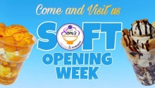 Sam's Halo Halo and Ice Desserts Soft Opening Week Promos FI