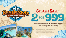 seven seas waterpark 2 for 999 splash sale