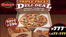 Shakey's Triple Treat deli-deal FI