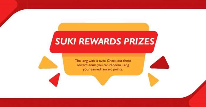 joesons suki rewards pirces