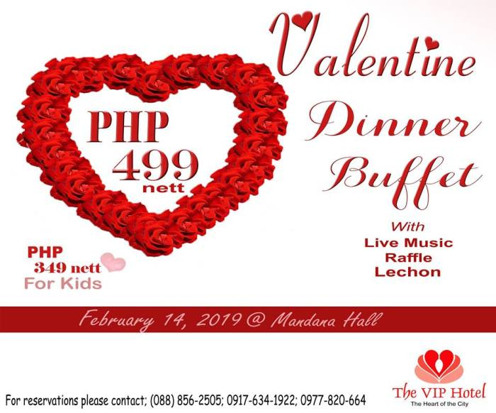 VIP Hotel valentines