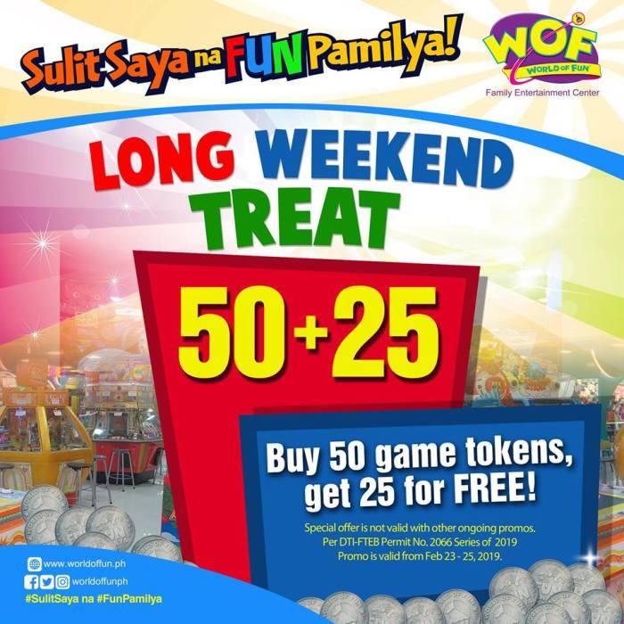 World of Fun Long Weekend Treat