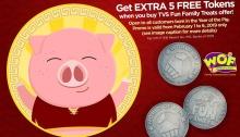 World of Fun Year of the Pig Sulit Saya Birthday Treats FI