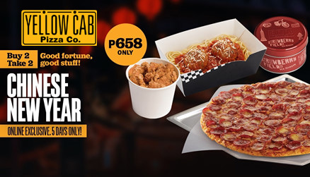 Yellow Cab Buy 2 Take 2 Chinese New Year FI