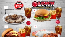 Zark's Burgers Lunch Meal Deals FI