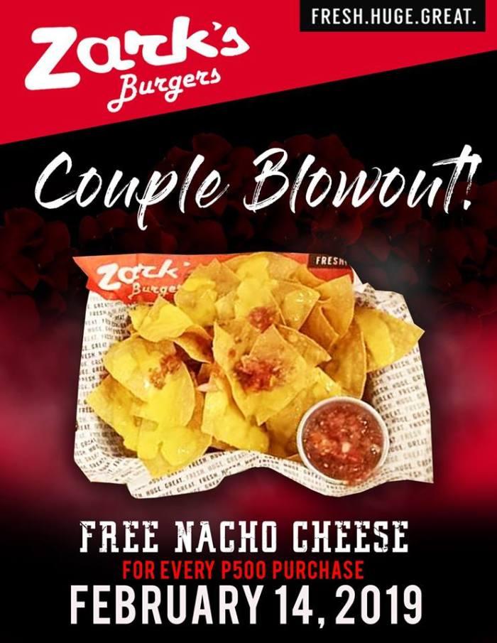 Zark's Burgers SM Downtown Premier Couple Blowout