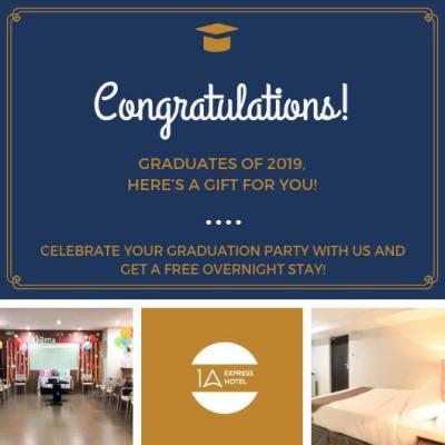 1A Express Hotel Graduation Promo Graduation Promo