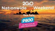 2Go Nationwide Weekend Sea Sale FI