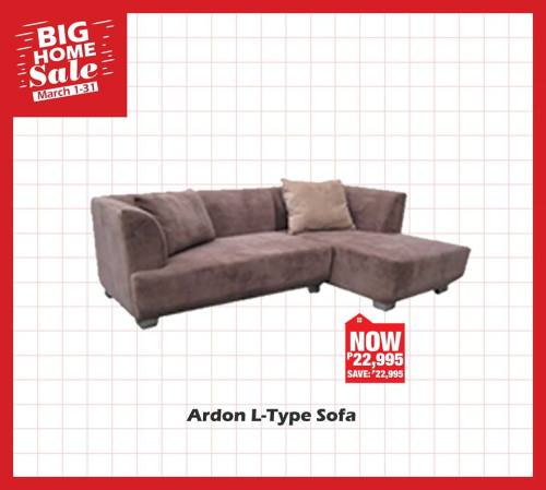 ardon L-type sofa