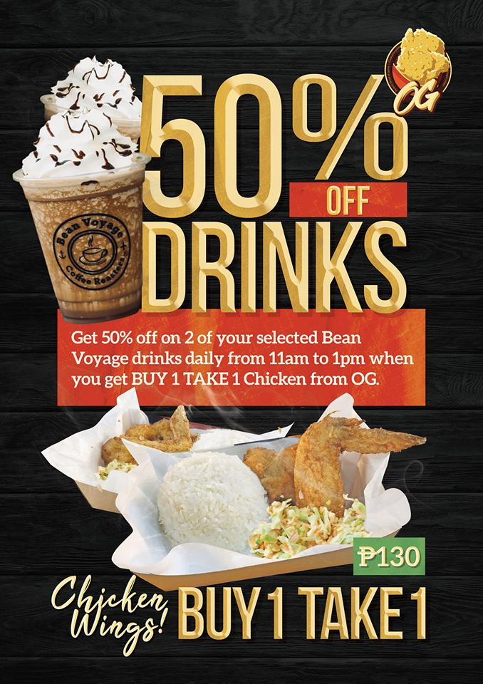 Bean Voyage Coffee Co 50% Discount at OG
