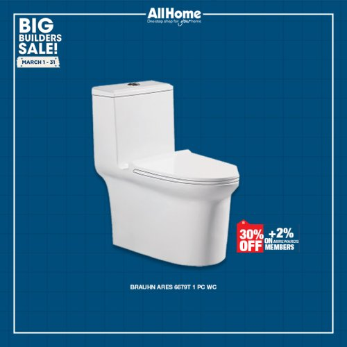 Brauhn ares 6679T 1 PC WC