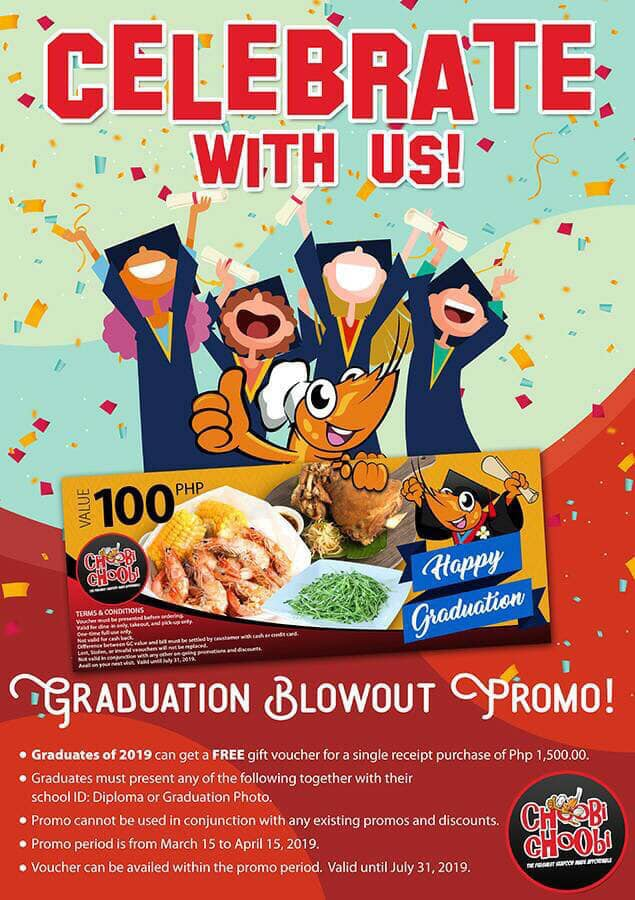 Choobi Choobi Graduation Blowout Promo