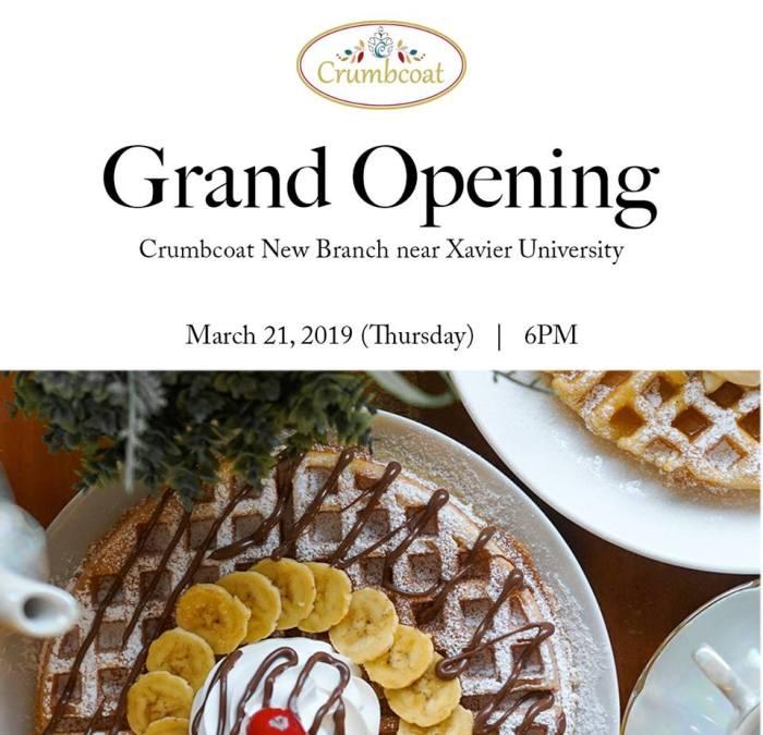 crumbCoat XU opening