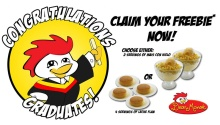 Dear Manok Grilled Chicken Restaurant Graduation Promo FI