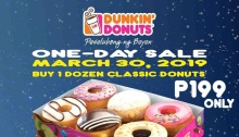 dunkin' donuts 1day sale FI