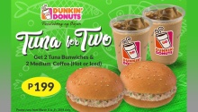 Dunkin' Donuts Tuna for Two FI gradient